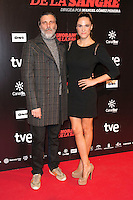"Armando Del Rio and Laia Alemani attends ""La Ignorancia de la Sangre"" Premiere at Capitol Cinema in Madrid, Spain. November 13, 2014. (ALTERPHOTOS/Carlos Dafonte) /NortePhoto nortephoto@gmail.com"