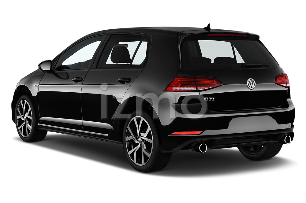 2018 Volkswagen Golf GTI Gti 5 Door Hatchback angular rear
