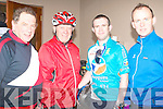 CYCLISTS: Having great fun at the Charity Cycle in aid of the A&E at KGH on Saturday l-r: Eamon Breen, Castlisland, John O'Connor and Liam Kelly and Tom Murphy of South Doc, Killarney.
