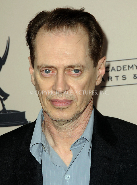 WWW.ACEPIXS.COM . . . . .  ....April 26 2012, LA....Actor Steve Buscemi at an evening with 'Boardwalk Empire' at the Leonard H. Goldenson Theatre on April 26, 2012 in North Hollywood, California.....Please byline: PETER WEST - ACE PICTURES.... *** ***..Ace Pictures, Inc:  ..Philip Vaughan (212) 243-8787 or (646) 769 0430..e-mail: info@acepixs.com..web: http://www.acepixs.com