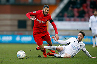O's Jobi McAnuff & Kane Smith  during Leyton Orient vs Boreham Wood, Vanarama National League Football at the Matchroom Stadium on 6th January 2018
