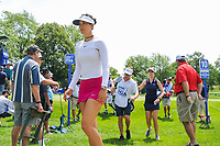 Michelle Wie (USA) makes her way to the 11th tee during Thursday's round 1 of the 2017 KPMG Women's PGA Championship, at Olympia Fields Country Club, Olympia Fields, Illinois. 6/29/2017.<br /> Picture: Golffile | Ken Murray<br /> <br /> <br /> All photo usage must carry mandatory copyright credit (&copy; Golffile | Ken Murray)