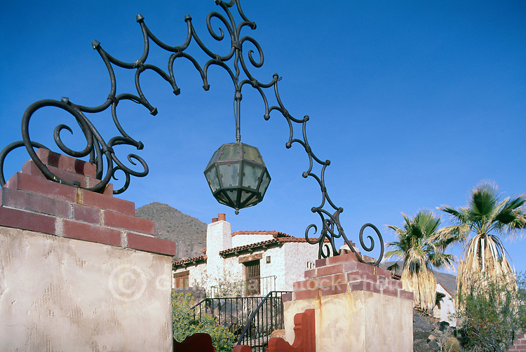 Death Valley National Park, California, CA, USA - Scotty's Castle in Grapevine Canyon (built in 1927 by Albert Johnson)