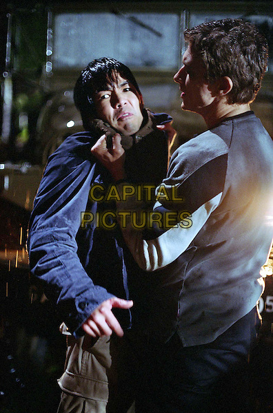 """JEREMIAH    2003.Byron LawsonÊ as Lee Chen and Peter Stebbings as Markus in Episode 203 """"Letters from the Other Side Part 2"""" .Filmstill - Editorial Use Only.Ref: FB.sales@capitalpictures.com.www.capitalpictures.com.Supplied by Capital Pictures."""