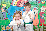 CHAMPIONS Knocknagree Tae-Kwon-Do competitors Denis Ring and his sister Katie who won medals  at the European Championship which took place in the Neptune Stadium in Cork. .   Copyright Kerry's Eye 2008