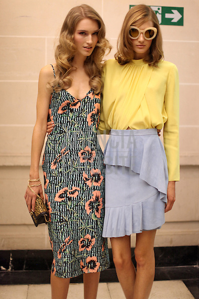 Londres, Inglaterra &sbquo;09/2014 - Desfile de Matthew Williamson na Semana de moda de Londres  -  Verao 2015. <br /> <br /> Foto: FOTOSITE