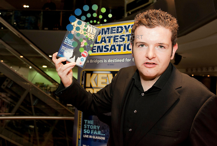 Scottish Comedian Kevin Bridges launches his new comedy DVD, at HMV Glasgow...Picture Johnny Mclauchlan Universal News and sport (Scotland)22/11/