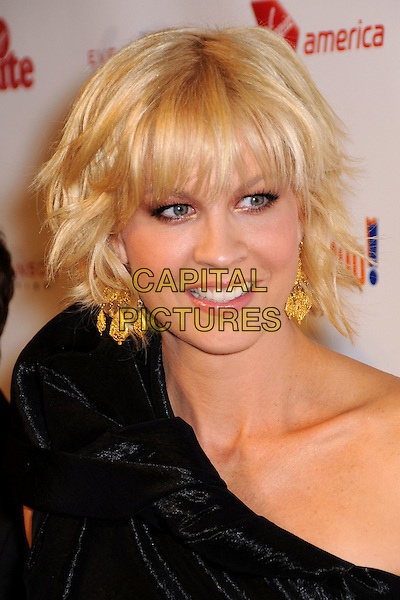 "JENNA ELFMAN.""Rock the Kasbah"" Gala 2009 Benfiting Virgin Unite and the Eve Branson Foundation held at Vibiana, Los Angeles, California, USA..October 26th, 2009.headshot portrait black one shoulder gold earrings velvet .CAP/ADM/BP.©Byron Purvis/AdMedia/Capital Pictures."