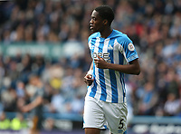 Huddersfield Town's Terence Kongolo <br /> <br /> Photographer Stephen White/CameraSport<br /> <br /> The Premier League - Huddersfield Town v Leicester City - Saturday 6th April 2019 - John Smith's Stadium - Huddersfield<br /> <br /> World Copyright © 2019 CameraSport. All rights reserved. 43 Linden Ave. Countesthorpe. Leicester. England. LE8 5PG - Tel: +44 (0) 116 277 4147 - admin@camerasport.com - www.camerasport.com