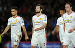 A dejected Daley Blind of Manchester United at the end of the game<br /> - Barclays Premier League - Bournemouth vs Manchester United - Vitality Stadium - Bournemouth - England - 12th December 2015 - Pic Robin Parker/Sportimage