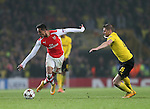 Arsenal's Alexis Sanchez in action<br /> <br /> UEFA Champions League- Arsenal vs Borussia Dortmund- Emirates Stadium - England - 26th November 2014 - Picture David Klein/Sportimage