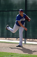 Ariel Jurado - Texas Rangers 2016 spring training (Bill Mitchell)