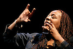 THE BLUE ALBUM         WRITTEN AND PERFORMED BY.DAVID CALE AND DAEL ORLANDERSMITH o MUSIC BY DAVID CALE o DIRECTED BY GORDON EDELSTEIN.ON STAGE II MARCH 28 THRU APRIL 29, 2007.Set design: Neil Patel.Costume Design: Anita Yavich.Lighting Design: Jennifer Tipton..Photo © T Charles Erickson.tcepix@comcast.net....