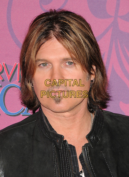 BILLY RAY CYRUS.The Miley Cyrus Sweet 16 Birthday Celebration at Disneyland in Anaheim, California, USA..October 5th, 2008.headshot portrait soul patch facial hair                                                         .CAP/DVS.©Debbie VanStory/Capital Pictures.