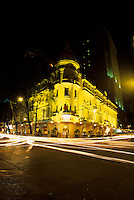 Night view of Grand Hotel, Saigon, Ho Chi Minh City, Vietnam