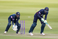 Keaton Jennings of Lancashire CCC is bowled by George Scott for 96 during Middlesex vs Lancashire, Royal London One-Day Cup Cricket at Lord's Cricket Ground on 10th May 2019