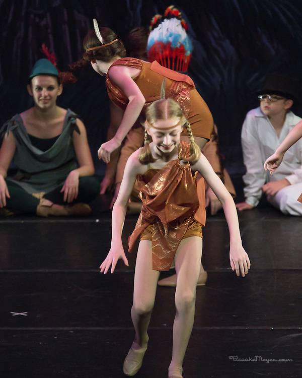 """Sunday Evening, """"Flight To Neverland"""", the 2013 Annual Recital by the Cary Ballet Conservatory."""