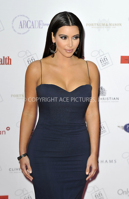 WWW.ACEPIXS.COM . . . . .  ..... . . . . US SALES ONLY . . . . .....May 17 2012, London.... Kim Kardashian at The FiFi UK Fragrance Awards held at The Brewery on May 17 2012 in London ....Please byline: FAMOUS-ACE PICTURES... . . . .  ....Ace Pictures, Inc:  ..Tel: (212) 243-8787..e-mail: info@acepixs.com..web: http://www.acepixs.com