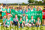 Milltown Listry runners  at the Kerry County Community Games finals in Castleisland on Saturday