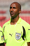 15 March 2008: Referee Neal Brizan (TRI). The Panama U-23 Men's National Team defeated the Cuba U-23 Men's National Team 4-1 at Raymond James Stadium in Tampa, FL in a Group A game during the 2008 CONCACAF's Men's Olympic Qualifying Tournament.