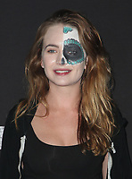 BUENA PARK, CA - SEPTEMBER 29: Britt Robertson, at Knott's Scary Farm & Instagram's Celebrity Night at Knott's Berry Farm in Buena Park, California on September 29, 2017. Credit: Faye Sadou/MediaPunch