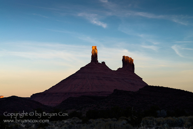 Sunrise, Castle Rock, Castle Valley, Utah