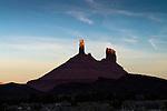 Sunrise, Castle Rock, Castle Valley, Utah