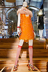 Lola Goodman dress shown at the Catherine Martin and Muccia Prada Dress Gatsby display at Prada store in SOHO, NYC May 4, 2013.