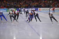 SCHAATSEN: HEERENVEEN: 15-12-2018, ISU World Cup, Mass Start Ladies, ©foto Martin de Jong