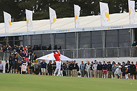 Dustin Johnson (USA) on the 10th fairway during the First Round - Four Ball of the Presidents Cup 2019, Royal Melbourne Golf Club, Melbourne, Victoria, Australia. 12/12/2019.<br /> Picture Thos Caffrey / Golffile.ie<br /> <br /> All photo usage must carry mandatory copyright credit (© Golffile | Thos Caffrey)