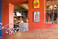 Interior of Hotel California bar, Todos Santos, Mexico