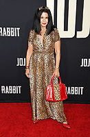 """HOLLYWOOD, CA - OCTOBER 15: Maria Conchita Alonzo attends the premiere of Fox Searchlights' """"Jojo Rabbit"""" at Post 43 of the American Legion Hall on October 15, 2019 in Los Angeles, California.<br /> CAP/ROT/TM<br /> ©TM/ROT/Capital Pictures"""