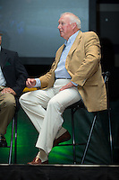 Charlie Manuel was honored for his induction into the Charlotte Baseball Roundtable of Honor at the Triple-A All-Star Game Luncheon at the Charlotte Convention Center on July 12, 2016 in Charlotte, North Carolina.   (Brian Westerholt/Four Seam Images)