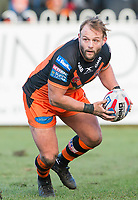 Picture by Allan McKenzie/SWpix.com - 11/02/2018 - Rugby League - Betfred Super League - Castleford Tigers v Widnes Vikings - the Mend A Hose Jungle, Castleford, England - Paul McShane.