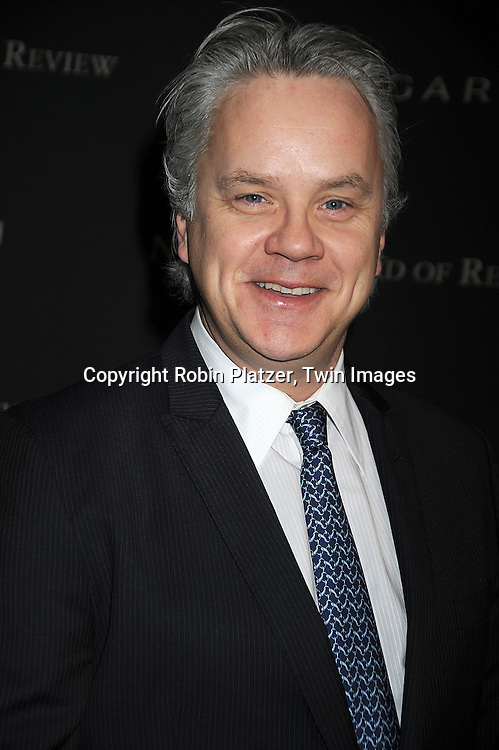 Tim Robbins..at The 2008 National Board of Review of Motion Pictures Awards Gala on January 14, 2009 at Cipriani's 42nd Street. The event was sponsored by Bulgari. ....Robin Platzer, Twin Images