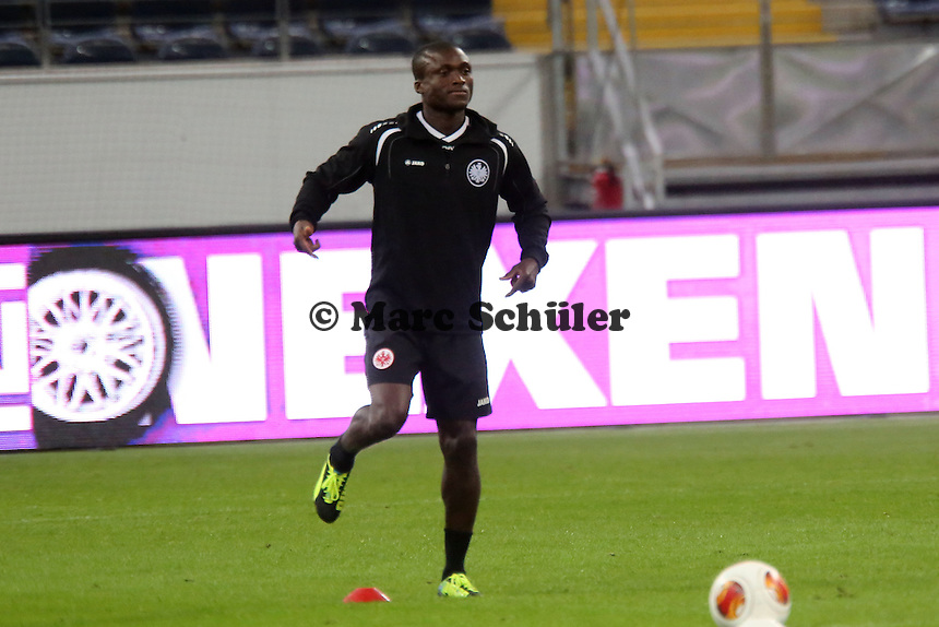 Constant Djakpa (Eintracht) - Training zur Begegnung der Europa League Eintracht Frankfurt vs. Girondins Bordeaux