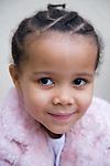 Little girl smiling.  MR