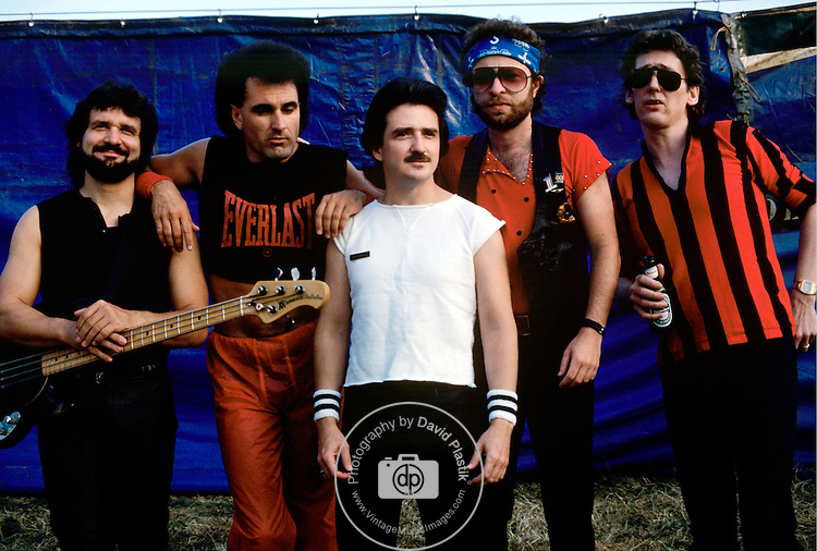Blue Oyster Cult. September, 1984.<br />© David Plastik / Retna Ltd.