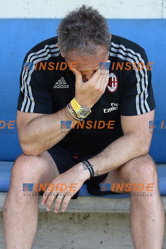 Solbiate Arno (Va) 10/07/2015 - amichevole / Milan-Alcione / foto Matteo Gribaudi/Image Sport/Insidefoto<br /> nella foto: Sinisa Mihajlovic