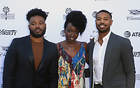 04 January 2019 - Palm Springs, California - Ryan Coogler, Danai Gurira, Michael B. Jordan. Variety 2019 Creative Impact Awards and 10 Directors to Watch held at the Parker Palm Springs during the 30th Annual Palm Springs International Film Festival. Photo Credit: Faye Sadou/AdMedia