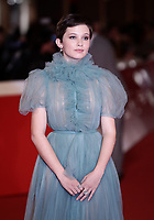 "L'attrice statunitense Cailee Spaeny, al suo arrivo per la proiezione del film ""Bad Times at the El Royale"", posa sul red carpet di apertura della 13 edizione della Festa del Cinema di Roma, 18 ottobre 2018.<br /> US actress Cailee Spaeny poses as she arrives for the screening of the film ""Bad Times at the El Royale"" during the 13th Rome Film Festival opening red carpet in Rome, October 18, 2018.<br /> UPDATE IMAGES PRESS/Isabella Bonotto"