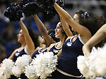 Nevada cheerleaders perform during a college basketball game against UNLV in Reno, Nev., on Tuesday, Jan. 27, 2015. The Rebels won 67-62. (Las Vegas Review-Journal/Cathleen Allison)