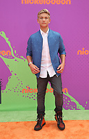 LOS ANGELES, CA July 13- Thomas Kuc, At Nickelodeon Kids' Choice Sports Awards 2017 at The Pauley Pavilion, California on July 13, 2017. Credit: Faye Sadou/MediaPunch
