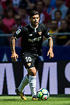 Ever Maximiliano Banega of Sevilla FC in action during the La Liga 2017-18 match between Atletico de Madrid and Sevilla FC at the Wanda Metropolitano on 23 September 2017 in Madrid, Spain. Photo by Diego Gonzalez / Power Sport Images