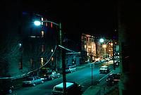 MERCURY VAPOR  LIGHTS<br /> Sodium vapor lights in background.