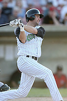 May 25, 2008: Shane Keough (24) of the Kane County Cougars at bat against the Quad Cities River Bandits at Elfstrom Stadium in Geneva, IL. Photo by: Chris Proctor/Four Seam Images