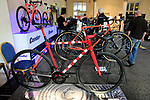 Condor stand at Bespoked 2018 UK handmade bicycle show held at Brunel's Old Station & Engine Shed, Bristol, England. 21st April 2018.<br /> Picture: Eoin Clarke | Cyclefile<br /> <br /> <br /> All photos usage must carry mandatory copyright credit (© Cyclefile | Eoin Clarke)