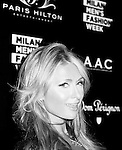 Paris Hilton's single release party at Just Cavalli Club as part of the Milan's Fashion Week Men's wear Spring/Summer 2016, in Milan on June 21, 2015.