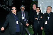 """Washington, DC - October 13, 2009 -- Musicians Los Lobos attend a White House Music Series """"Fiesta Latina"""" on the South Lawn of the White House in Washington on Tuesday, October 13, 2009. .Credit: Alexis C. Glenn / Pool via CNP"""