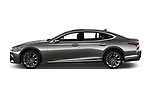 Car driver side profile view of a 2018 Lexus LS President 4wd 4 Door Sedan